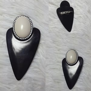 Vintage Style Shapes Brooch Pin